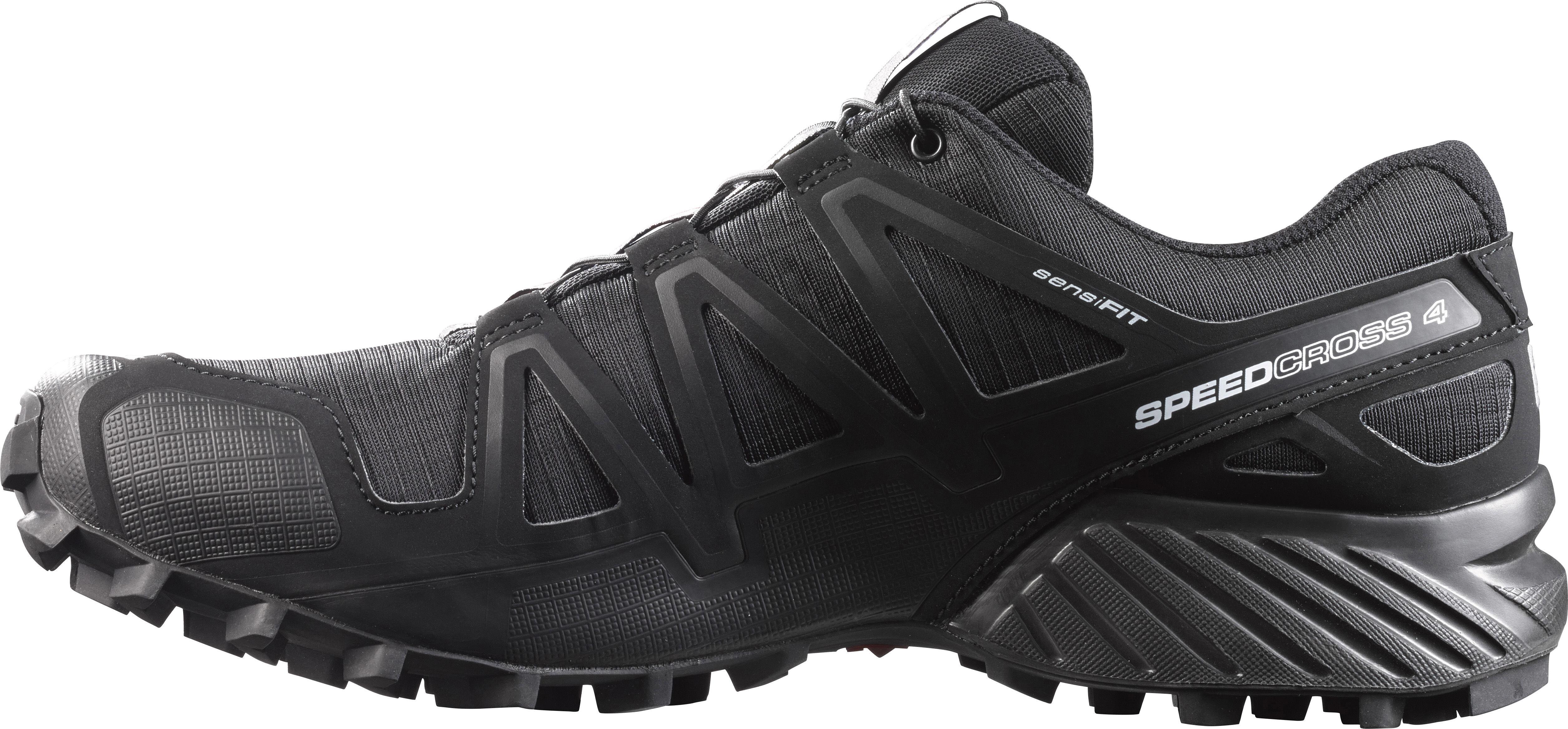 c342a7a8adf Salomon Speedcross 4 Hardloopschoenen Heren, black/black/black metallic